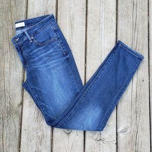 LOFT Curvy Skinny Jeans - size 28 / 6